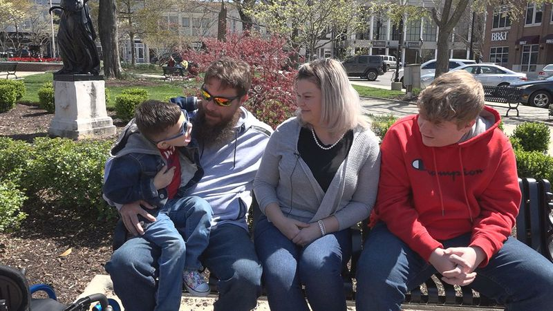 Bowling Green family celebrates long awaited adoption of special needs son