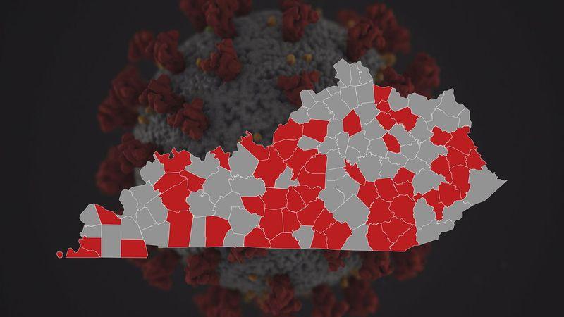 Kentucky Red Zones based on White House data.