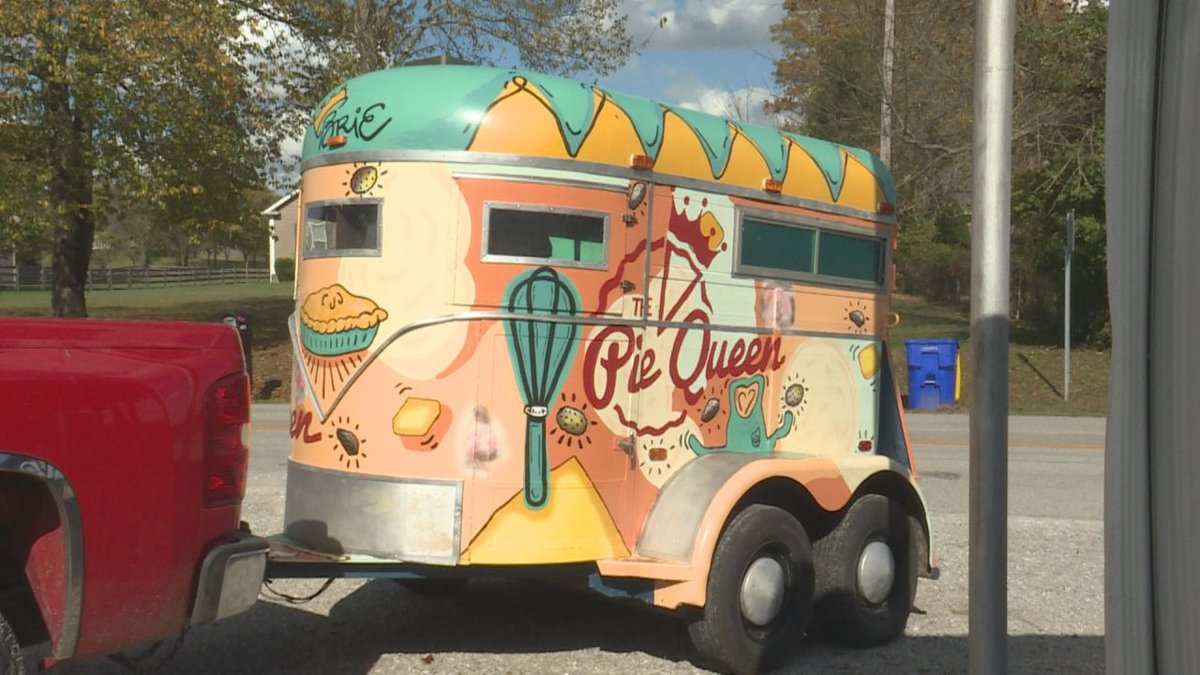 """For Brie Golliher also known as the """"Pie Queen"""" the addition of her Cutie Pie Food Truck will..."""