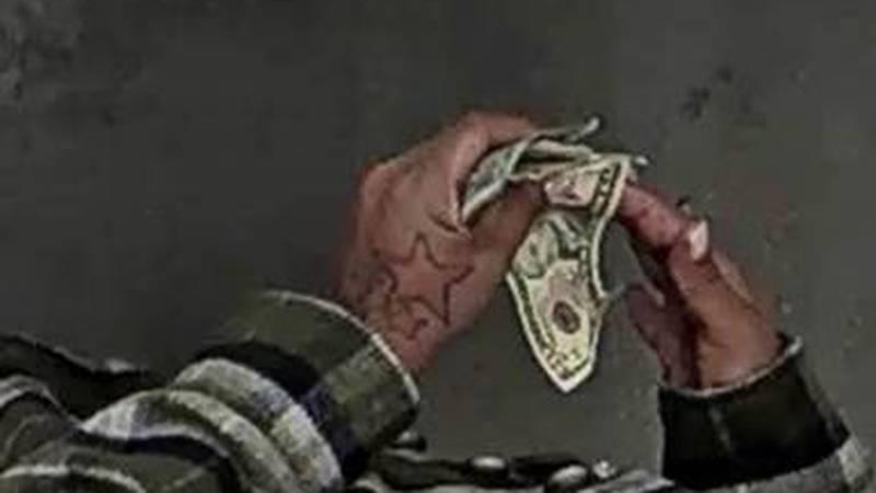 Multiple tattoos on left hand