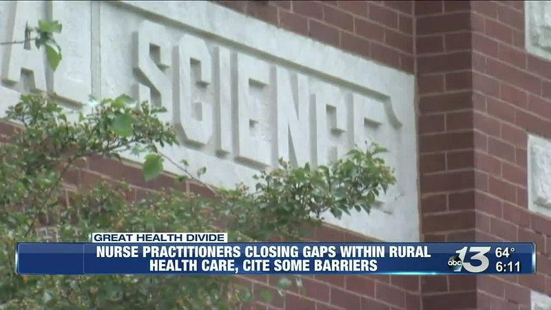 Nurse Practitioners closing gaps within rural health care cite some barriers