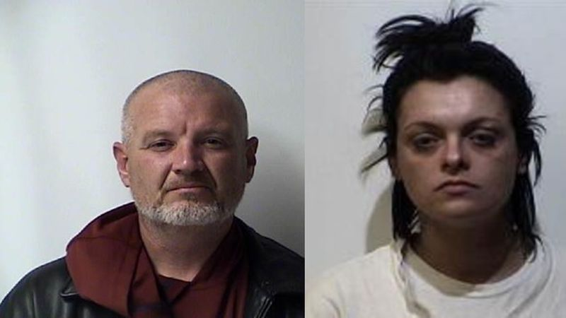 Man arrested in connection, woman wanted in connection.