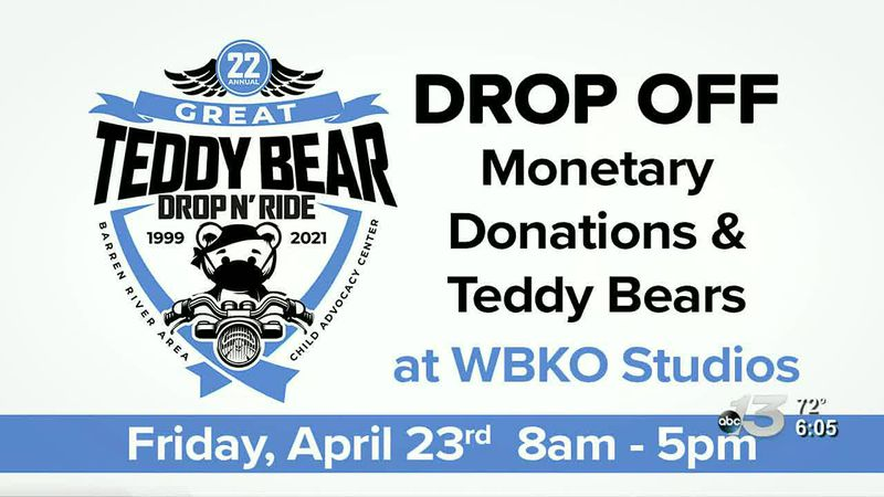 The Barren River Child Advocacy Center is kicking off their great teddy bear drop off at WBKO...