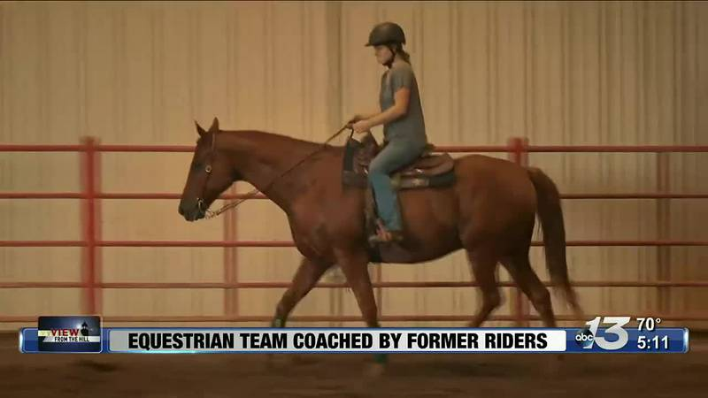 View From The Hill: Equestrian Team Coached By Former Riders