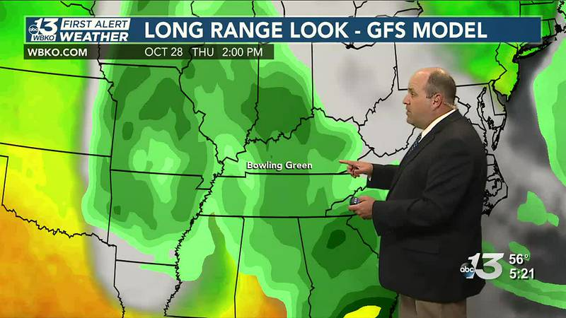 Rain expected to return later this week