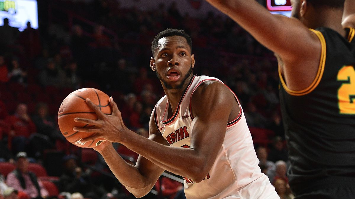 Western Kentucky Hilltoppers center Charles Bassey (23) Kentucky State Throubreds at WKU...