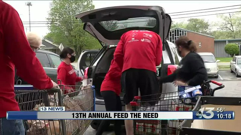13 Annual United Way of Southern Kentucky Feed the Need