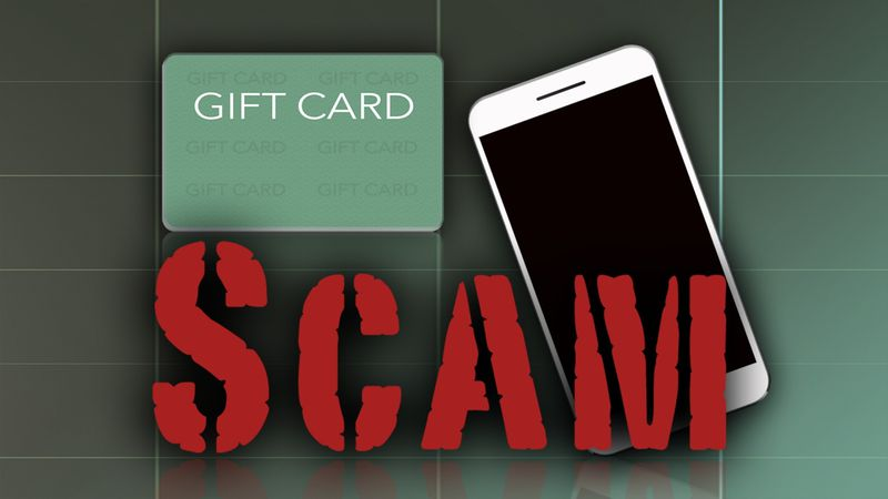 Gift Card Call Scam