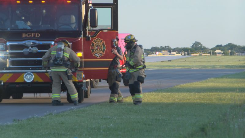BGFD completes training at airport