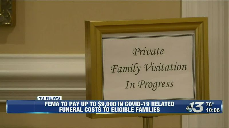 FEMA to pay up to $9,000 in COVID-19 related funeral costs to eligible families