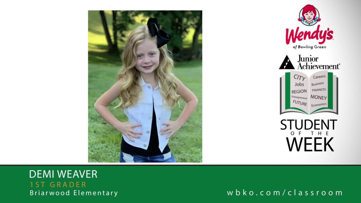 The JA Student of the Week is Demi Weaver