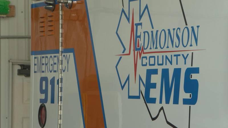 Edmonson County EMS receives federal grant.