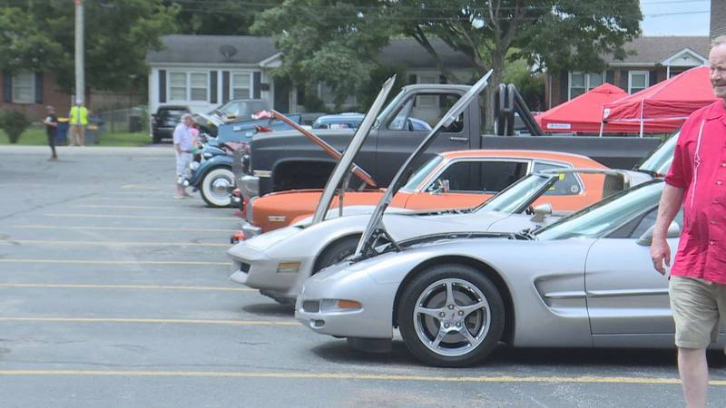 Centerpointe Church hosts car show