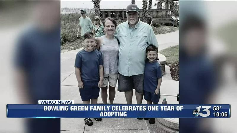 Bowling Green Family Celebrates One Year of Adopting