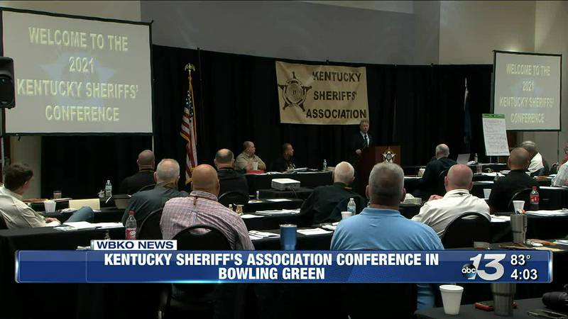 Kentucky Sheriff's Association Conference in Bowling Green @ 4