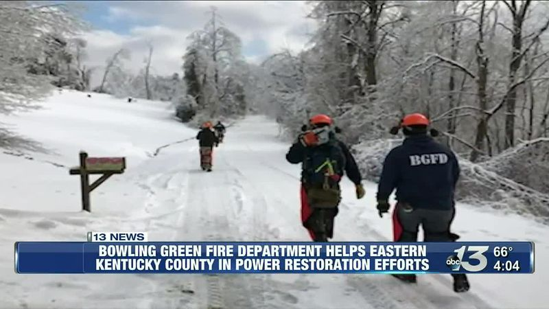 BGFD helps eastern KY county in power restoration