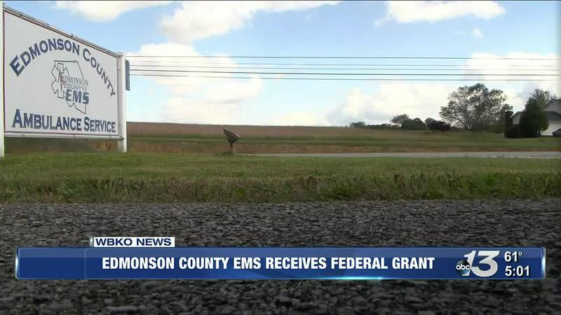 Edmonson County EMS Receives Federal Grant @ 5
