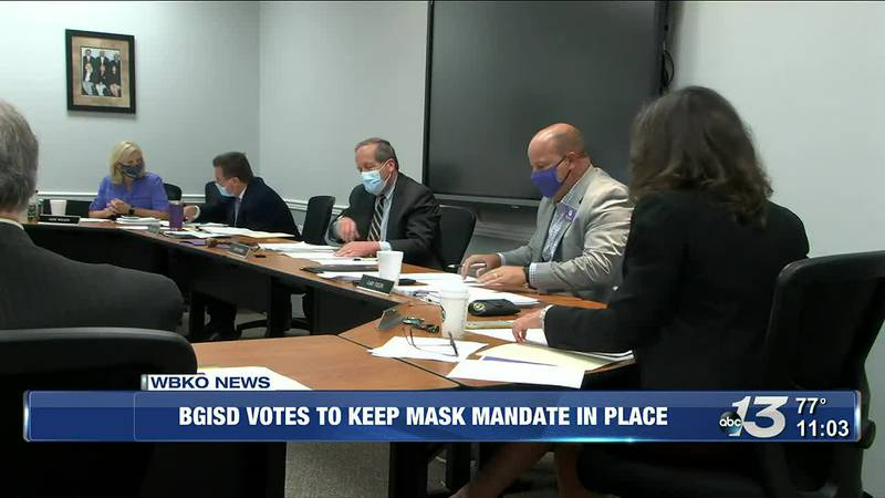 BGISD votes to keep mask mandate for students and staff