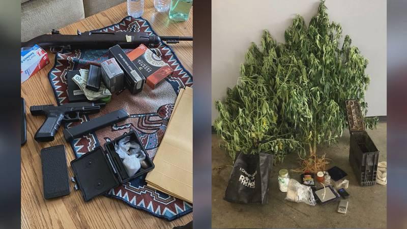 Hart Co. man arrested for marijuana, meth, firearms Hart Co. man arrested for marijuana, meth,...