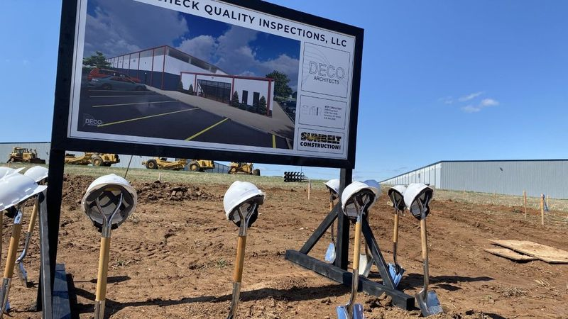 Cross Check Quality Inspection breaks ground on new facility