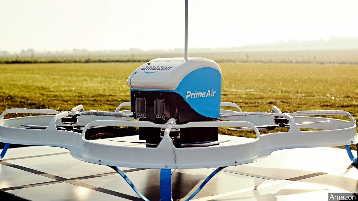 PHOTO: Amazon Prime air delivery drone