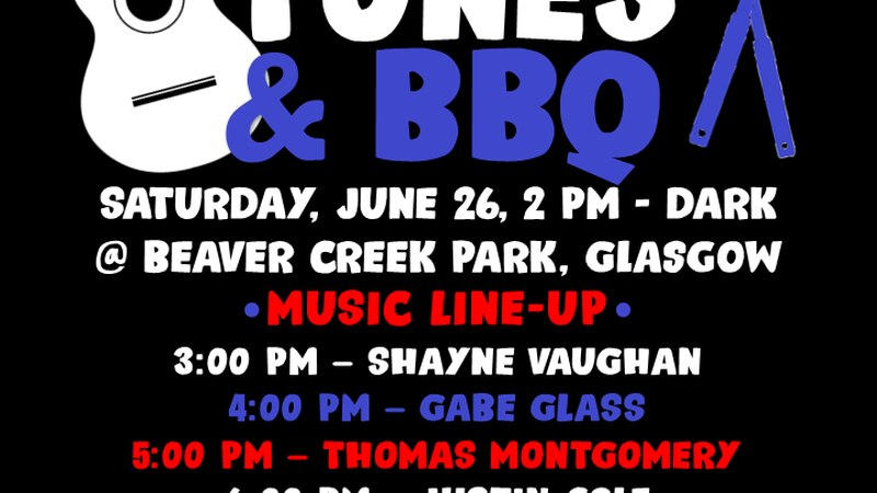 Entertain Glasgow is hosting a party on June 26 with water activities, live music, food trucks...