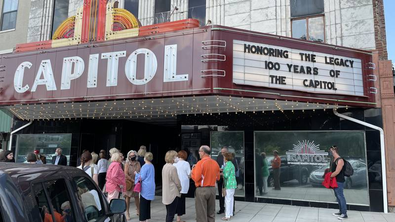 The Capitol Arts Center celebrates 100 years with special ceremony and ribbon cutting.