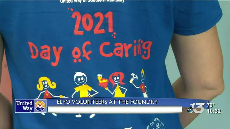 Day of Caring: ELPO Volunteers at the Foundry @ 10