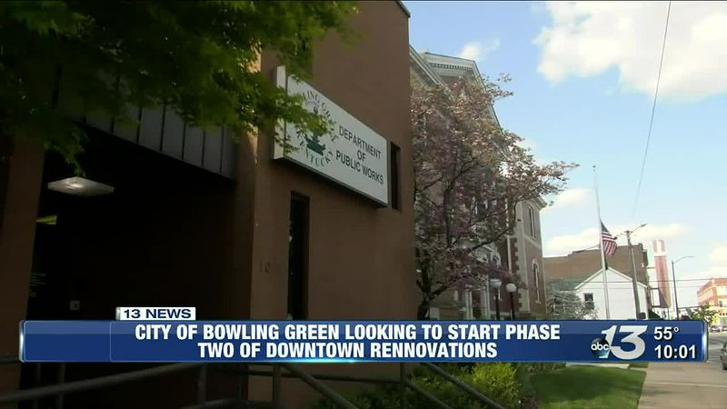 City of BG looking to start phase two of downtown renovations