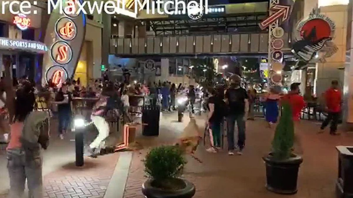 12 arrests were made Saturday night during protests in downtown Louisville according to Louisville Metro Police.