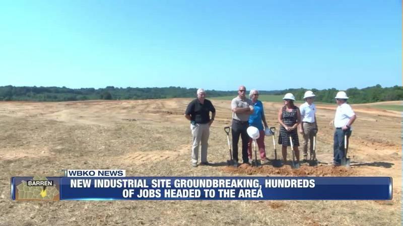 New Industrial Site, Hundreds of Jobs Headed to the Area
