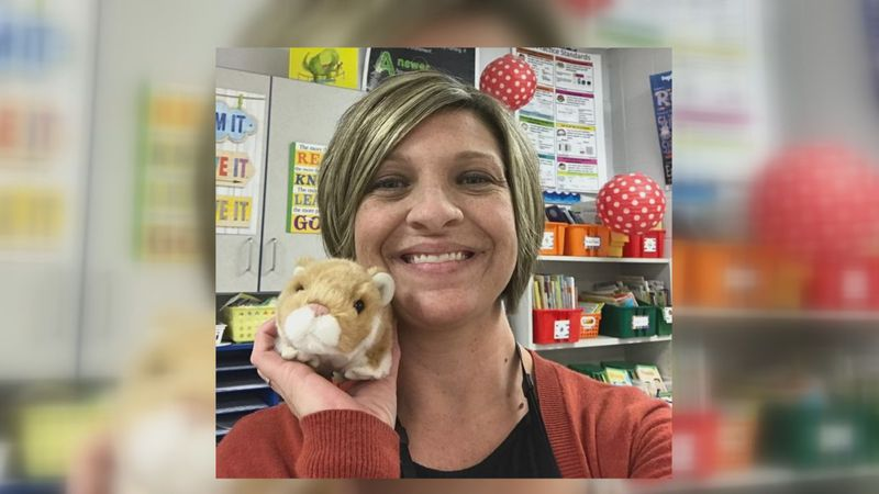 Lora Lashley of Clarkson Elementary has been teaching for the past 17 years, and on Monday she...