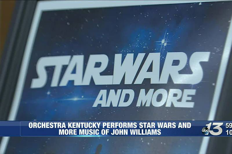 Orchestra Kentucky performs Star Wars and more music by John Williams