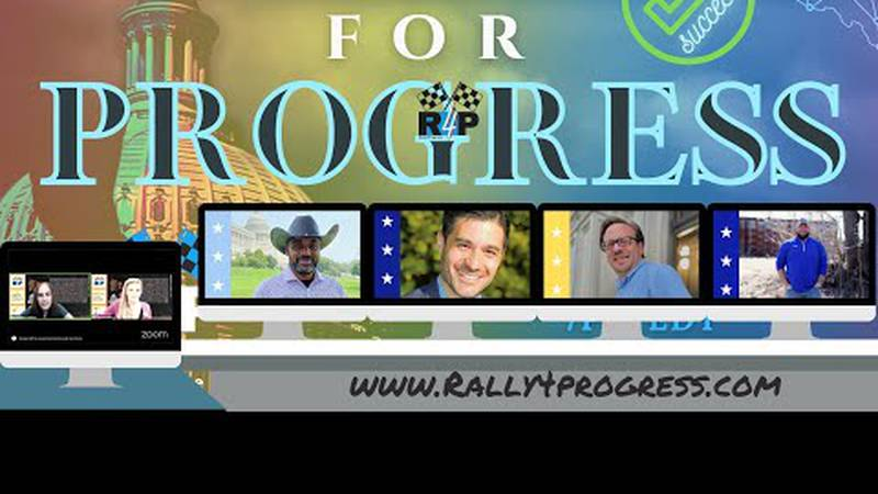 Rally4Progress raises awareness for Democratic candidates running to unseat the members of...