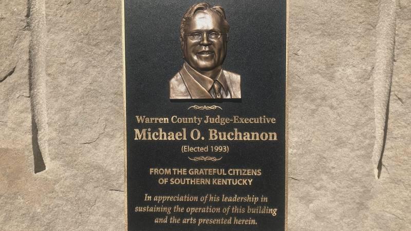 Mike Buchanon plaque