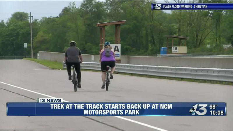 Wendy's Trek at the Track back at NCM Motorsports Park