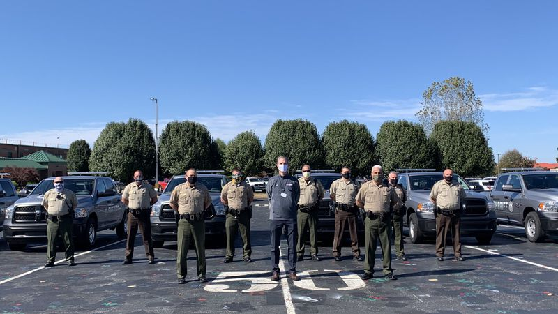 WCPS thanked deputies who donated $1,700 to the Family Resource Centers, they say the funds...