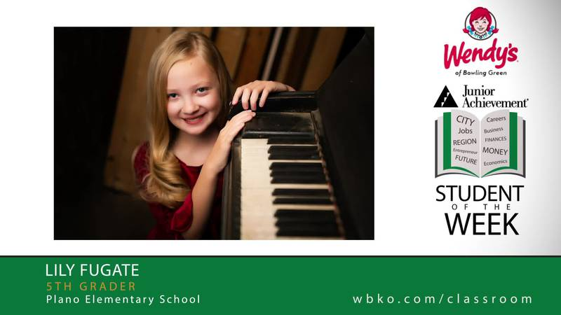 The JA Student of the Week is Lily Fugate