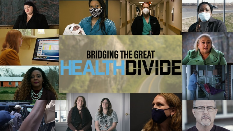 Residents of rural America talk about the problems they face accessing and providing health care.
