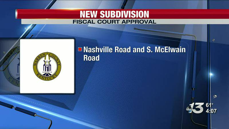 Fiscal Court Approval for new subdivision
