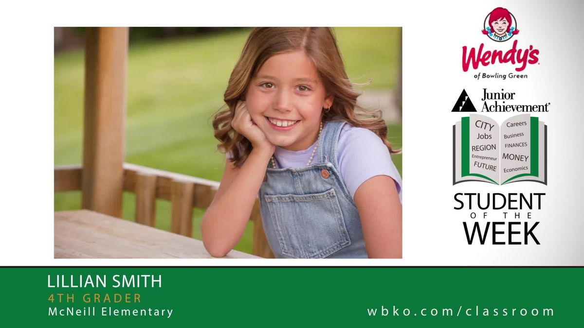 The JA Student of the Week is Lillian Smith