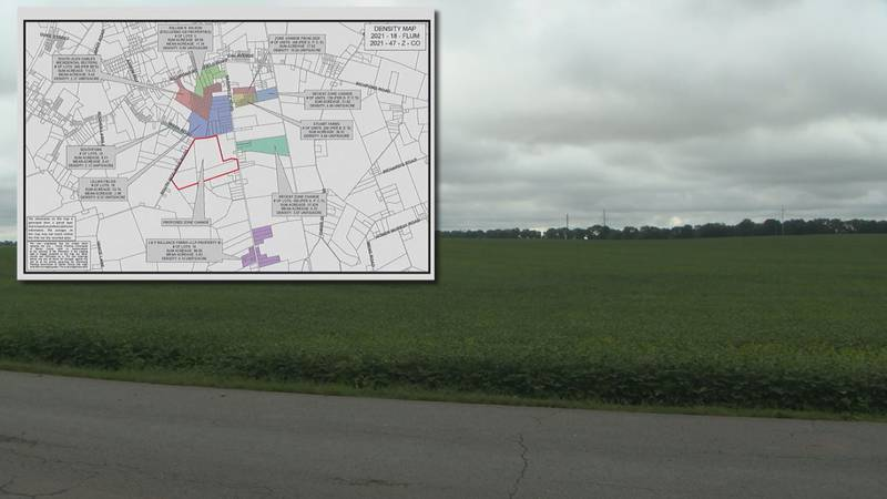 532-lot subdivision plan in south Warren County.