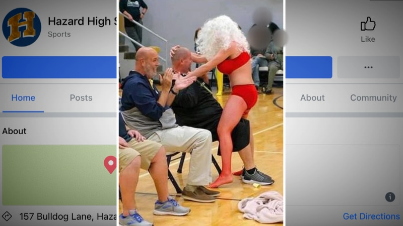 Several parents have said they upset about inappropriate actions at an assembly at Hazard High...