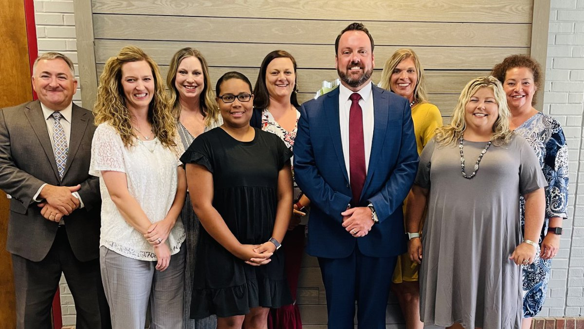 New Red Cross Elementary Principal, Josh Maples (center) will be starting his new role in July.