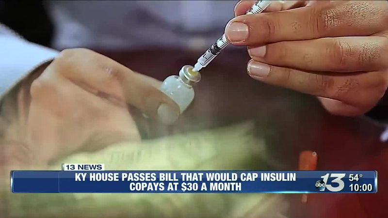 KY house passes bill that would cap insulin copays at $30 a month
