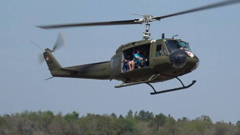 Friends of Army Aviation will be offering rides in a UH-1H Huey Helicopter during this time.