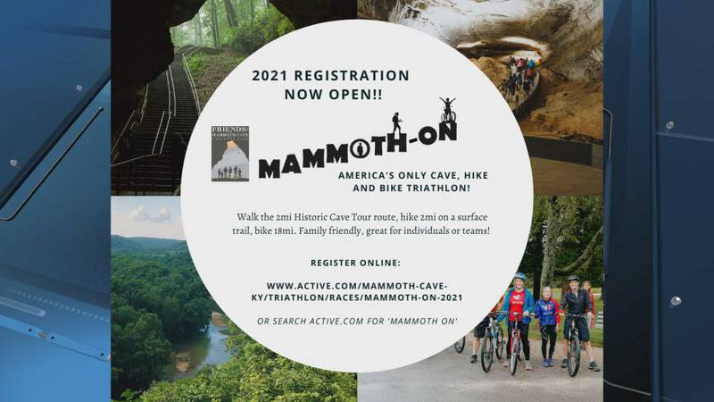 Mammoth On at Mammoth Cave National Park taking place Sunday, September 19.