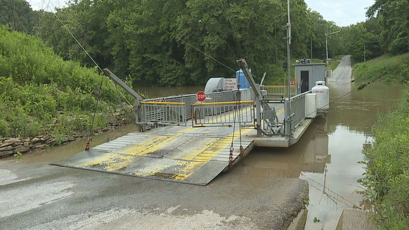 Green River Ferry, Mammoth Cave National Park