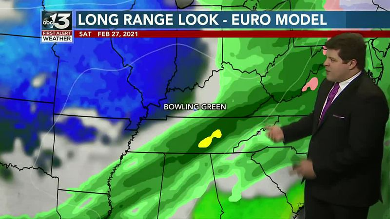 Tracking the potential for moderate to heavy rain for this weekend!
