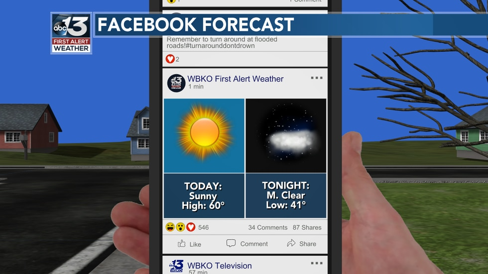 While you're scrolling through Facebook on this warm Tuesday, give us a like - WBKO First Alert...